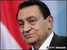 President Hosni Mubarak