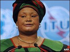 Gender Minister Patricia Kaliati