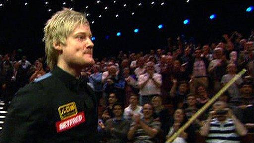 World Championship finalist Neil Robertson