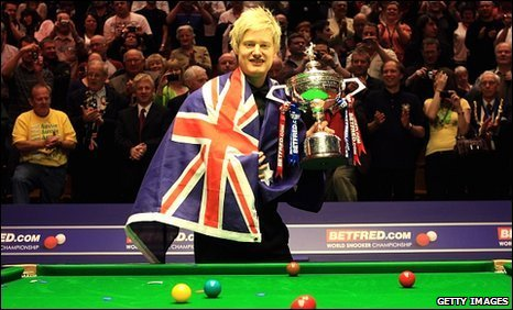 World champion Neil Robertson