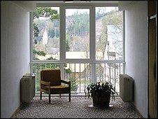 Corridor in Hotel Morava