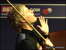 World champion Neil Robertson