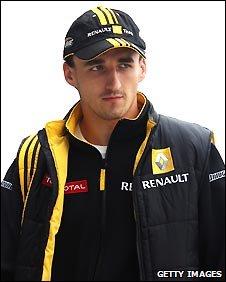 Renault's Robert Kubica