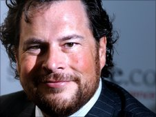Marc Benioff, chief executive Salesforce.com