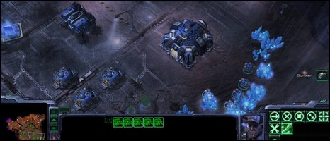 Starcraft II screenshot, Blizzard