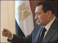 Hosni Mubarak (file photo 3 May 2010)