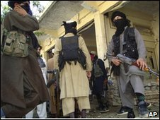 Pakistani Taliban militants