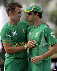 Johan Botha and Albie Morkel