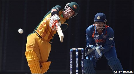 David Warner hits another six