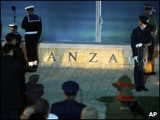 Australian Anzac commemorations at Gallipoli