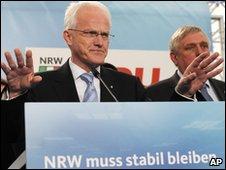NRW state premier Juergen Ruettgers