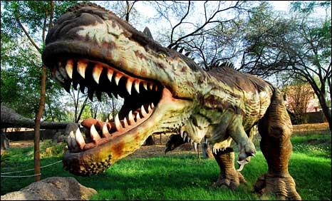 A model of Rajasaurus narmadensis