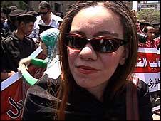 Amal Sharaf - opposition activist