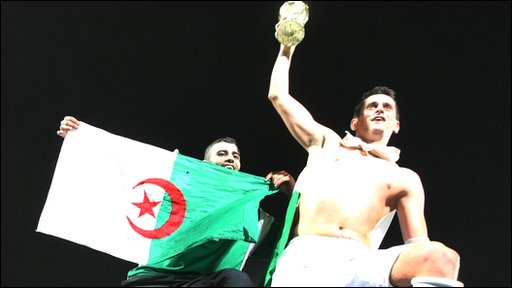 Algeria's Rafik Saifi