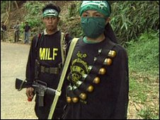 Milf rebels in the Philippines (file image)
