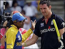 Kevin Pietersen and Eoin Morgan