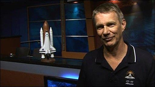 British-born astronaut Piers Sellers