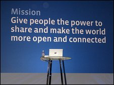 mission statement from facebook