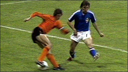 Johan Cruyff's turn