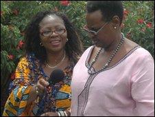 Uganda's first lady, Janet Museveni