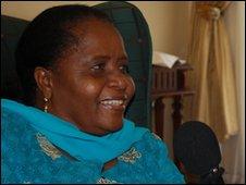Namibia's first lady, Penehupifo Pohamba