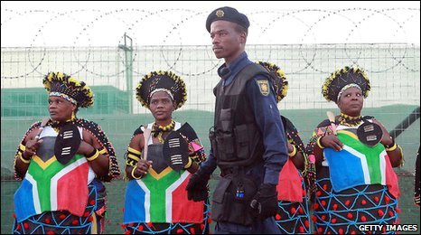 South Africa policeman