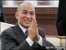Cambodia's King Sihamoni