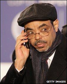 Ethiopian PM Meles Zenawi in Copenhagen