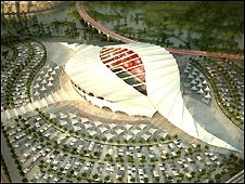 One of Qatar's proposed stadiums
