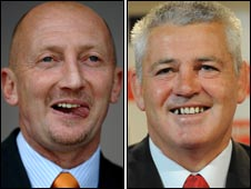 Ian Holloway and Warren Gatland