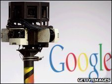 Google Street View camera