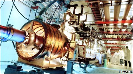 Tevatron main injector (Peter Ginter)