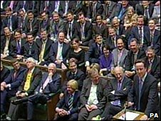 David Cameron and Conservative MPs