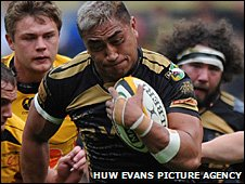 Ospreys' Jerry Collins