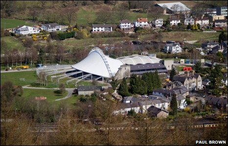 Llangollen Pavilion courtesy Paul Brown