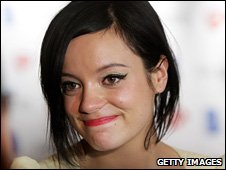 Lily Allen at the 2010 Ivor Novello Awards