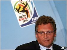 Jerome Valcke, secretary general of FIFA