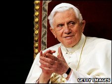 Pope Benedict XVI, the 265th pontiff