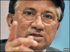 Pervez Musharraf (file photo)