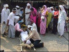 Dead farmer in Vidarbha