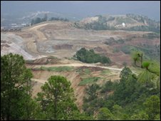 Goldcorp's Marlin mine in Guatemala