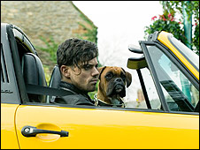 Boss and Dominic Cooper in Tamara Drewe