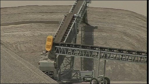 Quarrying and construction facility in UAE