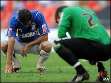 Cardiff are left devastated after their play-off loss at Wembley