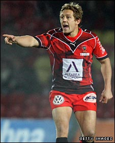 Jonny Wilkinson directs operations for Toulon