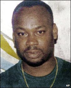 "Alleged drug gang leader Christopher ""Dudus"" Coke (undated photo)"