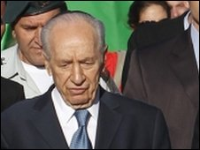 Israeli President Shimon Peres (Photo from 12 May 2010)
