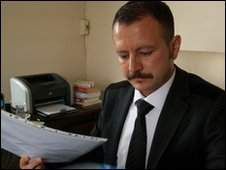 Serkan Akbas, lawyer for the children