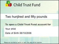 Child Trust Fund voucher
