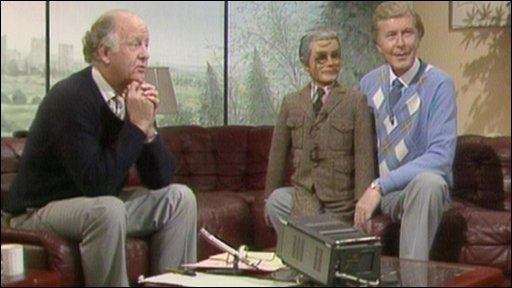 Frank Bough and Ray Alan